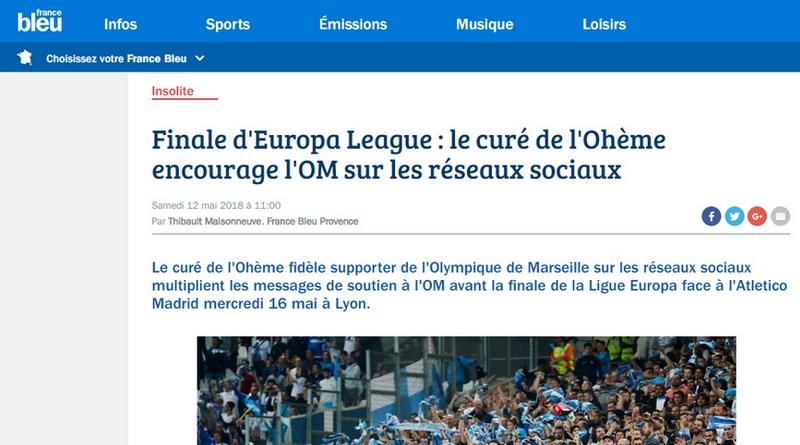 Le curé de l'Ohème sur France Bleu