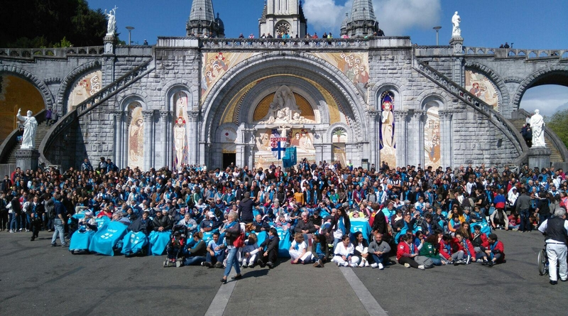 Les pèlerins marseillais à Lourdes